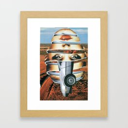 Back to Future Framed Art Print