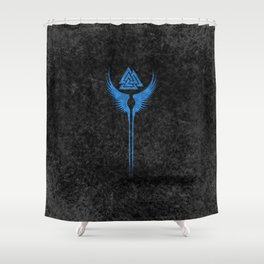 Vikings Valkyrie of Odin Shower Curtain