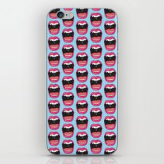 MOUTH BREATHER iPhone & iPod Skin