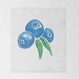 Why So Blueberry? Throw Blanket