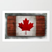 canada Art Prints featuring Canada by Arken25