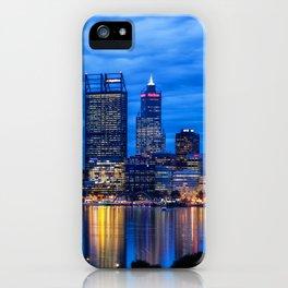 City Blues, Perth City, Western Australia Photographic Art iPhone Case
