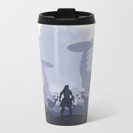 Horizon Metal Travel Mug