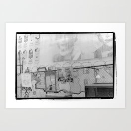 New York City Flea Market Art Print