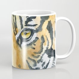 Tiger Watercolor Painting Coffee Mug