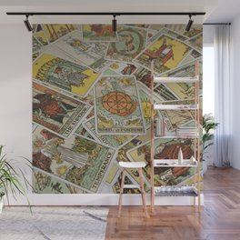 Tarot Cards Wall Mural