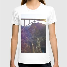 Hoover Dam Electicity Towers T-shirt
