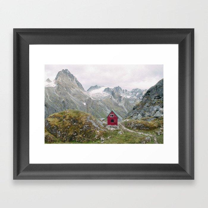 Mint Hut Gerahmter Kunstdruck