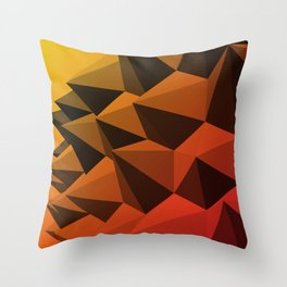 Spiky Brutalism - Swiss Army Pavilion Throw Pillow