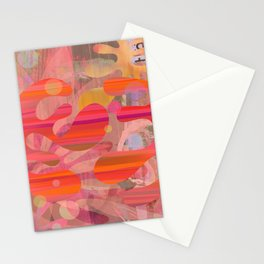 Coral Mystery Stationery Cards