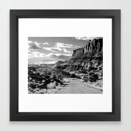 Capitol Reef National Park, Utah Framed Art Print