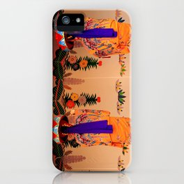 Traditional dancers in Okinawa iPhone Case