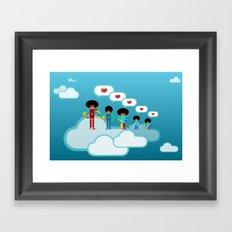 Jacksons Pixel Art Framed Art Print