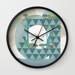 Nature is a dynamic system Wall Clock