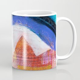 Summit Mountain Rainbow Coffee Mug