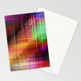 colourful linings II Stationery Cards