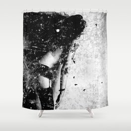 Nude art - time Shower Curtain