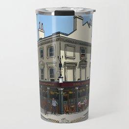 Pigeons Over London Travel Mug