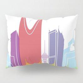 Riyadh skyline pop Pillow Sham