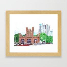 King's Gate, Kaliningrad Framed Art Print
