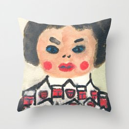 My People are with me Throw Pillow