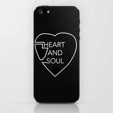 heart and soul - twin atlantic  iPhone & iPod Skin