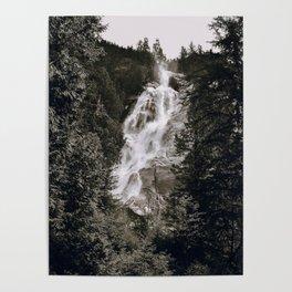 Waterfall III / Canada Poster