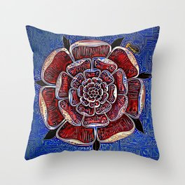 Rosicard Throw Pillow