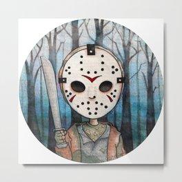 Cute Jason Voorhees  Metal Print
