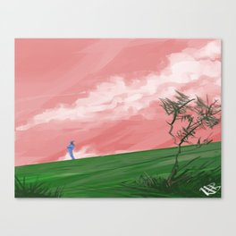 The Guard Canvas Print