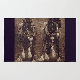 Shires / Horses Rug