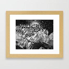 Class Reunion Framed Art Print