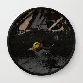 Little Creatures YELLOW SNAIL Wall Clock