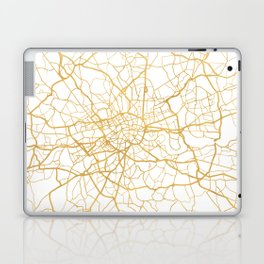 LONDON ENGLAND CITY STREET MAP ART Laptop & iPad Skin