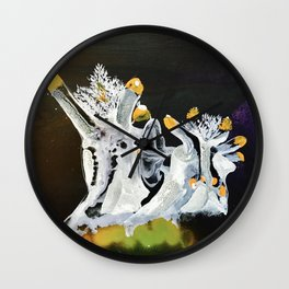 Sea Slugs Wall Clock