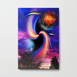Heavenly apparition 2 Metal Print