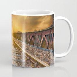 Journey along Railway Track Coffee Mug