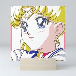 Sailor Moon White Mini Art Print