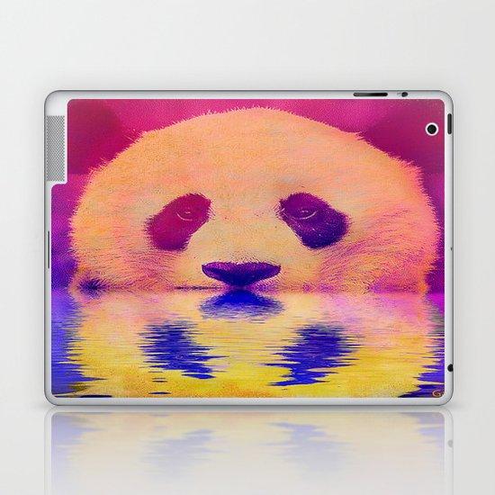 Pink Panda Laptop & iPad Skin