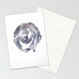 150527 Watercolour Shadows Abstract 156 Stationery Cards