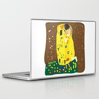 gustav klimt Laptop & iPad Skins featuring klimt by John Sailor