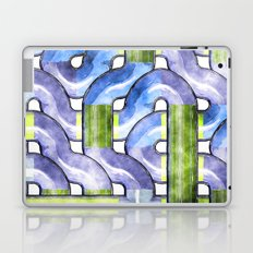 Pipelines watercolor Laptop & iPad Skin