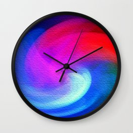 Fractal Abstract Wall Clock