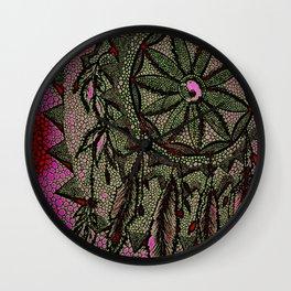 Sunset Dreamcatcher - enhanced Wall Clock