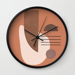 Geometric Shapes 04 Wall Clock