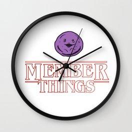 Member Things Wall Clock