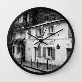 La Maison Rose Wall Clock