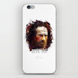 Rick Grimes - THE WALKING DEAD iPhone Skin