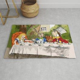 "John Tenniel, "" Alice's Adventures in Wonderland "",color ver.2 Rug"