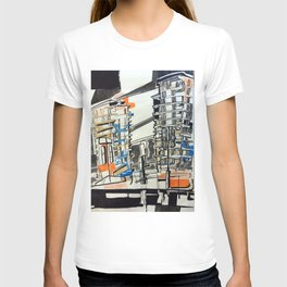 London From A Train T-shirt